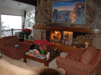 5 Bd Mountain Home Steps to Great Skiing & Hiking