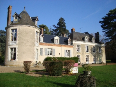 Wing of a Santenay Mansion 6-8 Pax - Touraine