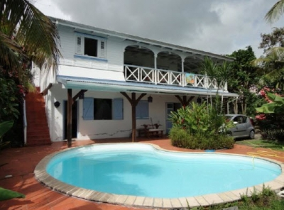 Lovely 3BR Creole Villa Facing Rocher du Diamant!