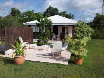 Spacious Creole Style F2 Bungalow in Quiet Village