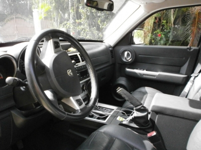 rental vehicle interior
