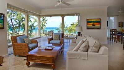 2nd Floor 3 Bedroom, 3 Bath Ocean Front Villa #201