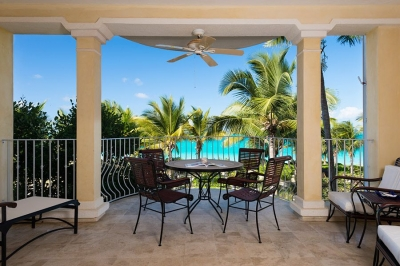 2nd Floor Ocean Front 2 Bedroom, 2 Bath Villa #203