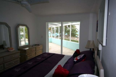 Bedroom 2 - also with ocean view!