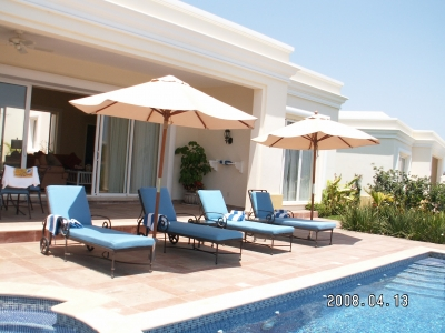 Roomy 3BR Villa w Private Pool & Outdoor Hot Tub!