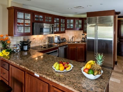 Kitchen with every amenity.