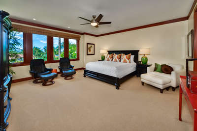 Partial Ocean View Expansive Master Bedroom