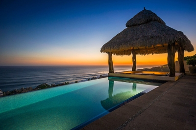 Enjoy an unobstructed view of the Sea of Cortez when you stay at Villa Helena!