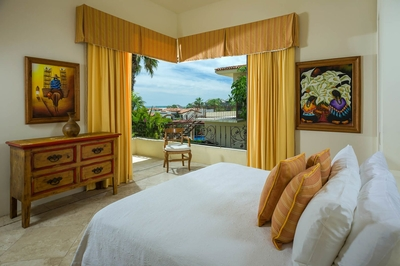 With plush pillows and soft linens you'll have the best sleep possible while you stay in Villa Desie