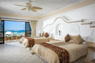 Each bedroom features an ocean view of the Sea of Cortez!