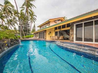 Fabulous 7 Br for 20 Oceanfront Estate!
