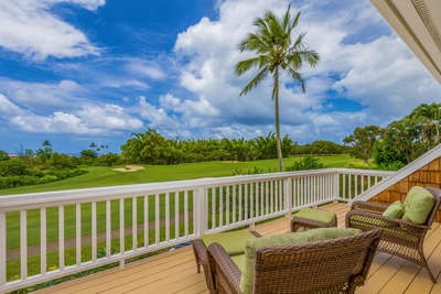 Relaxing views from your private lanai