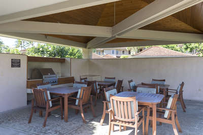 BBQ and Dining area
