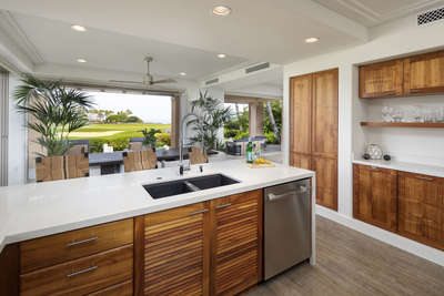 Gourmet Kitchen with Stainless Steel Appliances