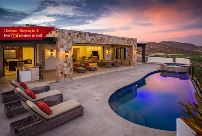 Spend your time in Cabo at the luxury retreat that is Casa Kay!