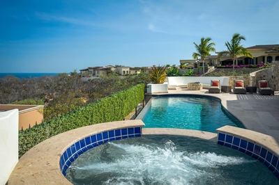 Appreciate the spectacular landscape from Casa Kay's hot tub or pool!