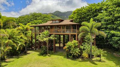 Tropical Bamboo Hideaway