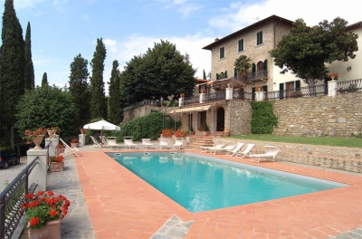 Villa Maria in Fronzano - Panoramic Tuscan Luxury