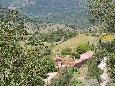 "Gaucin holiday farmhouse ""La Almuña"" in Gaucin"