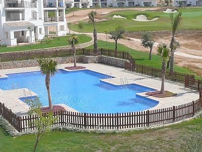 Luxury Golf Apartment in Murcia Spain