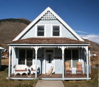 Wolf Haus white wolf haus silverton historic mountain home in silverton