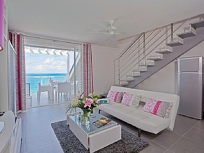 Beautiful duplex apartment in Grand Case