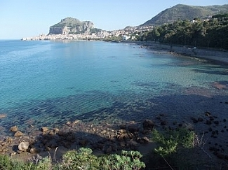 VIEW ON CEFALU' FROM THE FOOT PATH