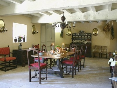 The Mill's dining room