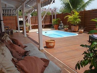 Villa with Jacuzzi in Saint Francois