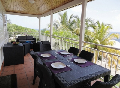 Villa rental handles Arlet Martinique