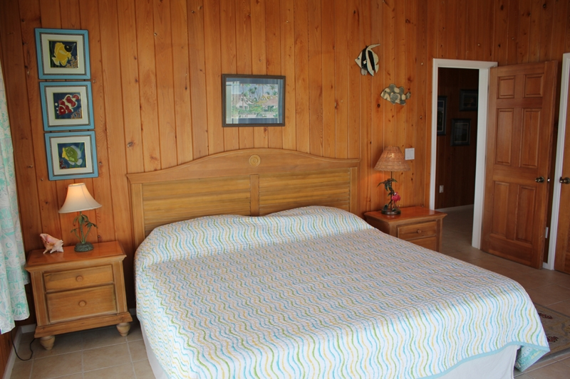 master bedroom downstairs barefoot town abaco in cay bahamas 12268