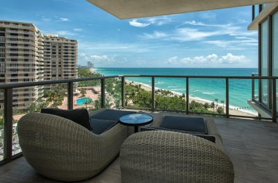 1 Bedroom Oceanfront Condo, St. Regis