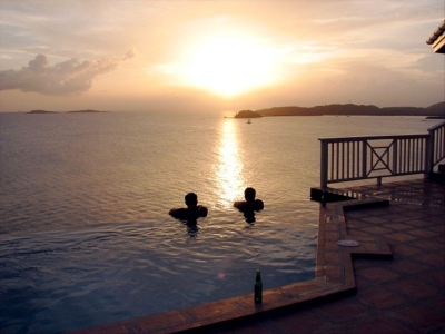 Sans Sou Sea, St. Thomas Sunset View