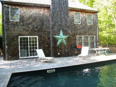 August Bridgehampton 3 bedroom house with pool