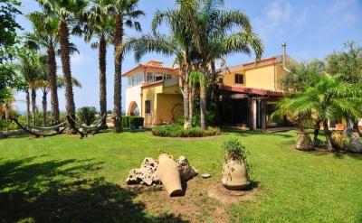 Luxurious Villa overlooking the Mediterranean Sea.