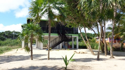 2 BR Beachfront Sunrise Cabana - Hopkins, Belize
