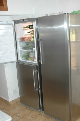 "Huge ""Frigo"" in kitchen"