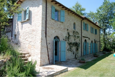 Casa Poggio - Superb 4BR Farmhouse 40 Km N of Rome