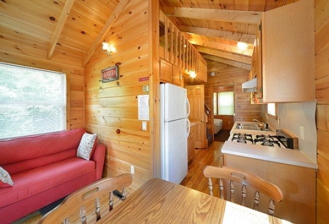 Lake George Escape Camping Resort in Lake George, New York