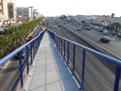 View of Cabo Roig Strip from Walkway