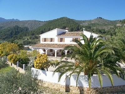 Quot Casa Jaime Quot Traditional Spanish Finca Near Calpe In Calpe