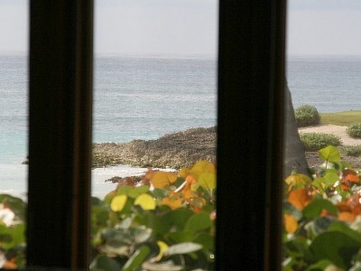 The view from the master bedroom