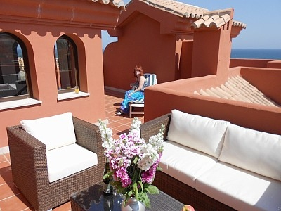 Costa Galera Country Club Penthouse Apartment In Estepona