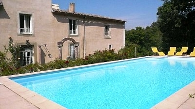 19th century countryside home with pool!