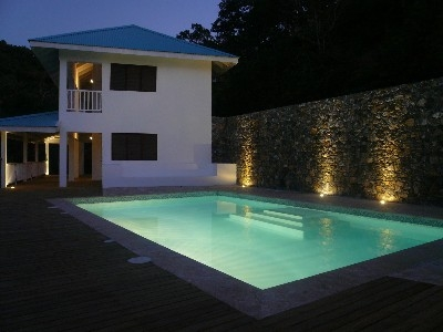 New Hilltop Villa, Magnificent Sea Views!